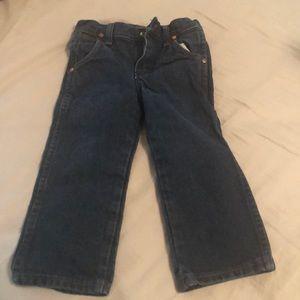 3t cowboy cut wrangler jeans